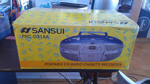 Sansui Radio Casette Player