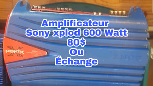 Amplificateur  sony 600 watt