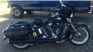 2009 Heritage Softail Classic Loaded