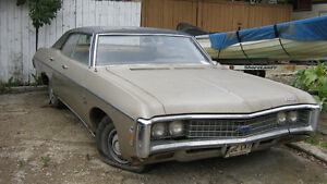 1969 Chevy Impala - Motor 327 - 4 Door Hard Top