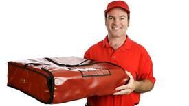 halal Takeaway delivery driver