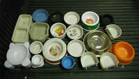 Selling Various Dishes & Accessories For Rabbits,Guinea Pig etc