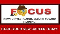 PRIVATE INVESTIGATION AND SECURITY GUARD TRAINING