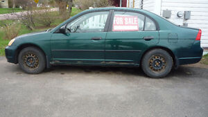 2001 civic must sell
