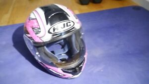 HJC Motorcycle Helmet Bike Woman's size small $175 - $175
