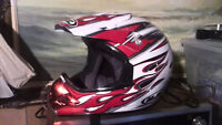 Adult SM and Youth XL Dirt bike helmets (free Jersey w Purchase)