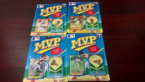 Collectible Baseball Cards and Pins. Mint in Package. Blue Jays