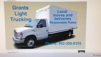 Local moves and deliveries. Great rates!