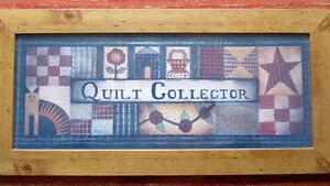 Primitive Wall Frame for Quilters