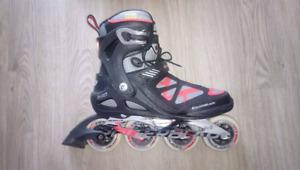 2 paires de patins à roues alignés pour homme et femme