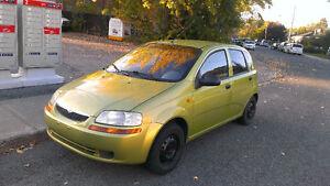 2004 Suzuki Swift Familiale