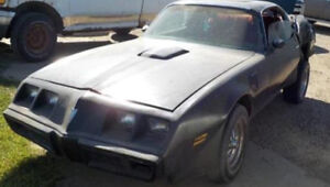 Trans Am parting out
