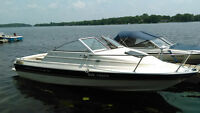 19 ft Bayliner Boat Capri Cuddy Cabin Fishing 4-stroke 140 HP