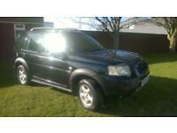 2004 Land Rover Freelander 2.0Td4 SE diesel BLACK HALF LEATHER PX WELCOME