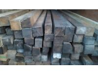 Solid hardwood seasoned posts for sale perfect god renovation works and more.