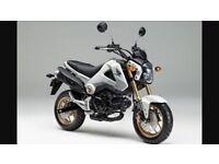 Wanted. Honda msx 125cc