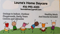 Home Daycare- 2 Spots Available Now
