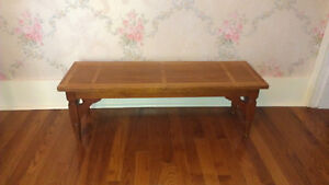 Antique table/ low bench