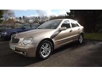 Mercedes-Benz C270 2.7TD 2003MY CDI Classic Glasgow
