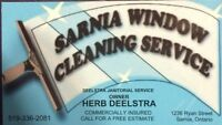 Sarnia Window Cleaning Service..Located in Sarnia over 60 years