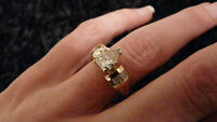 1.47 ct. Pear Shaped Diamond Ring - Stunning!