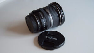 Canon 10-22mm F/3.5-4.5 Ultrasonic Lens Excellent