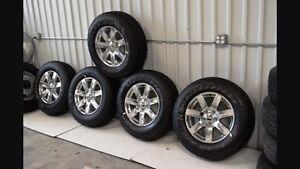 Jeep Wrangler tires - Bridgestone Dueller A/T tires, 255/70R18 Belleville Belleville Area image 2