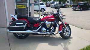 VStar 1300 One Owner Touring Edition Lady Driven Immaculate