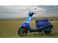 Monaco GT 4000w Electric Scooter 50MPH 60 Miles LG Lithium Battery 125cc Equiv