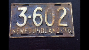 WANTED.... Newfoundland license plates
