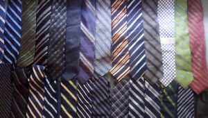Brand name men neck ties in excellent condition.