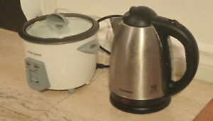 RICE COOKER & KETTLE
