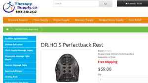 Back Rest - by Dr Ho's Perfectback Rest London Ontario image 1