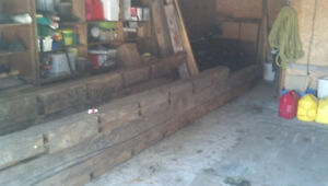 """""""Barn"""" Beams from 1800's Post & Beam Structure"""