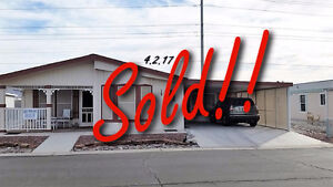 SOLD! Winter in Style Manufactured Home in Yuma, AZ  Rancho #21