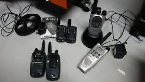 3 sets of walkie talkies