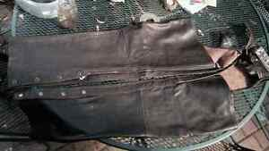 PRICE REDUCED! Leather chaps and jacket for sale Regina Regina Area image 3