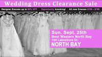Clearance Sale and Bridal  Show