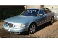 "2002 Audi A8 D2 4.2 V8 Quattro - 300bhp Tiptronic 4WD - 18"" Alloys - MOT until April"