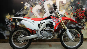2014 Honda CRF 450R Every ones approved. Only $149 per month