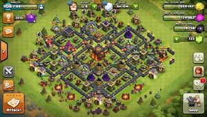 Lvl 108 clash of clans account
