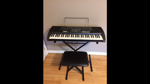 Keyboard/Stand/Bench