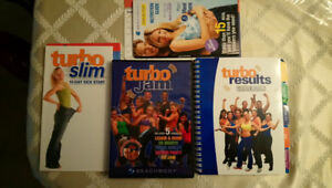 Turbo Jam DVD and entire kit