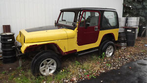 1989 Jeep YJ parts or project