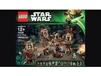 Lego ewok village 10236 new and sealed