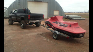 duramax turbo diesel and super charged jetski package
