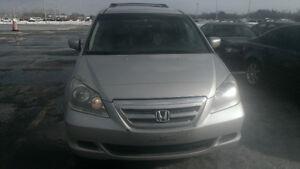 NOUVEAU PRIX!  Honda Odyssey 2007 avec 8  PLACES