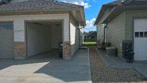 3bed 1.5bath lower of up/down duplex with 1 bay garage Sept 1