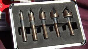 NEW - Countersink Bit Set - ATE Pro Tools