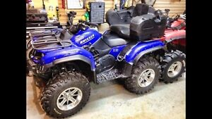 Pending trade this Friday-  2006 grizzly 660 ONLY 1300 kms